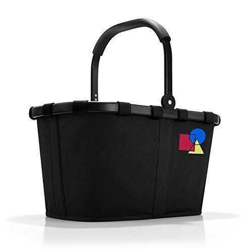reisenthel Carrybag – Dekor Bauhaus NO. ONE Frame Black | 100 Jahre Bauhaus Jubiläum | Kollektion (Frame Black)
