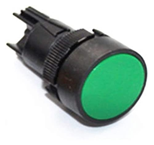 LGFCOK Interruptor de botón Auto-Bloqueo de 22 mm XB2-EH135 EH145 EH155 Interruptor de botón Interruptor de alimentación Interruptor de botón (Color: Amarillo, Voltaje: 1NO1NC)