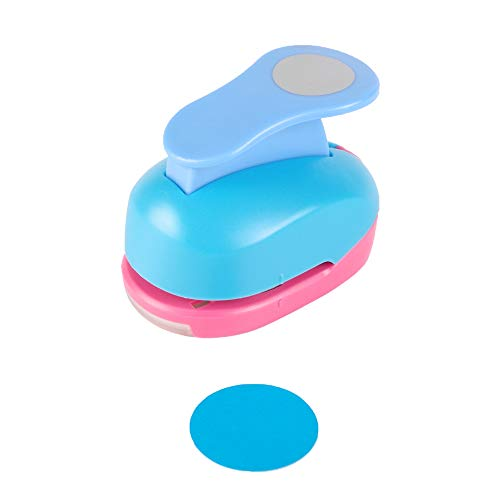 Circle Punch 1.5 inch Craft Lever Punch Handmade Paper Punch Candy Color by Random 1.5 inch Circle