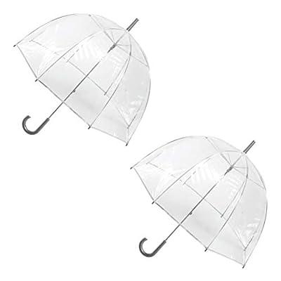 totes Clear Bubble Umbrella (2 Pack)