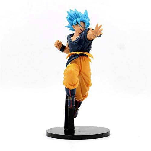 FENGZI Super Saiyan Dios Ultimate God Son Goku Azules Que luchan muñeco articulado de Vinilo