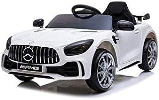 ATAA Coche eléctrico para niños Mercedes GTR 12v con Licen
