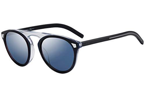 Dior Christian DiorTailoring2 gafas de sol w / 52mm Azul Cielo Espejo Lente JBWXT Tailoring2 Adaptación de 2 Tailoring2 / S DiorTailoring2 / S hombre azul Habana Grande