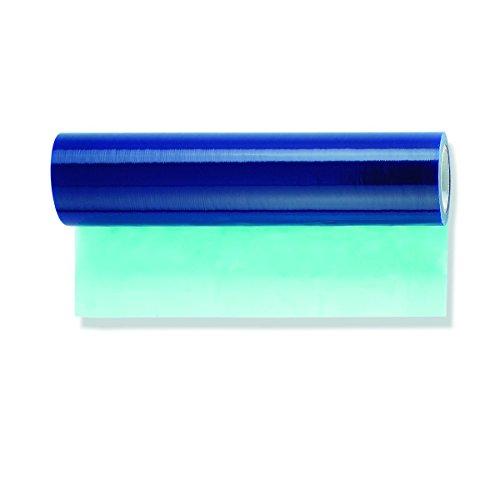 2x Glasschutzfolie blau selbstklebend 500mm x 100m Fenster Schutz Abdeck Folie