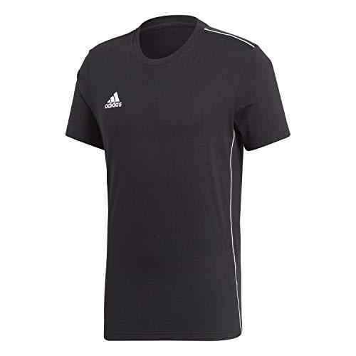 adidas Kinder Core 18 Tee T-Shirt, Black/White, 164