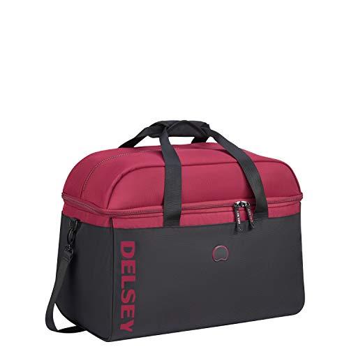 Delsey Paris EGOA Bolsa de Viaje 51 Centimeters 45,4 Rojo (Bordeaux)