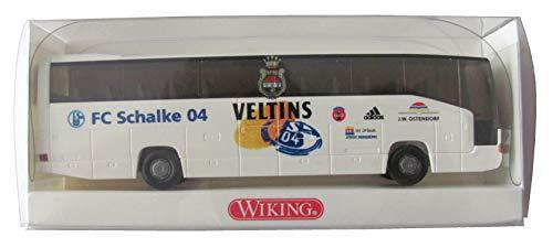 FC Schalke 04 - J.W. Ostendorf - MB O 404 RHD - Teambus - Reisebus - Bus - von Wiking
