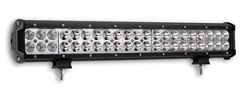 """1x LED-Fernscheinwerfer Scheinwerfer Light Bar 20"""" 50,5cm 126 Watt 42x CREE LED Super Hell mit ECE-Zulassung Eintragungsfrei Straßenzulassung~"""