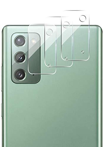 QULLOO Kamera Panzerglas für Samsung Galaxy Note 20, [3 Stück] Kamera Schutzfolie Anti-Kratzen Kameraschutz für Samsung Galaxy Note 20 5G - Transparent