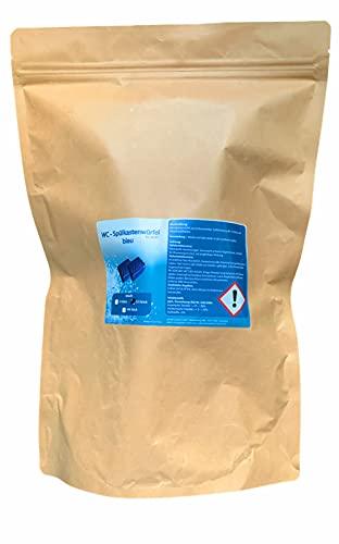 23 WC - Wasserkastenwürfel Spülkasten-Würfel Reinigungs-Tabs blue, 50g