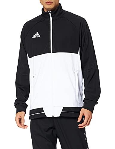 adidas Tiro 17 PES Jacket Chaqueta, Hombre, Negro/Blanco, S
