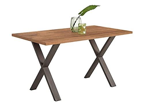 Diseño de mesa industrial por la firma HOGAR24