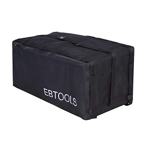 Keenso Auto-dakkoffer, waterdichte bagagebox, trekhaak, dak, auto, bagagetas op de auto, trekhaak, bagagetas voor auto, vrachtwagen, SUV, vans, dak boven