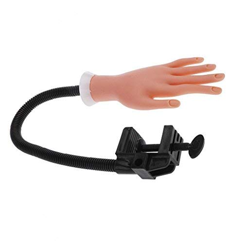 Cisixin Nail Hand Praxis Modell,Praxis Hand Übungsfinger Modell für Maniküre