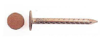 0,25 kg Pappnägel /Schieferstifte Kupfer CU , 2,8x35