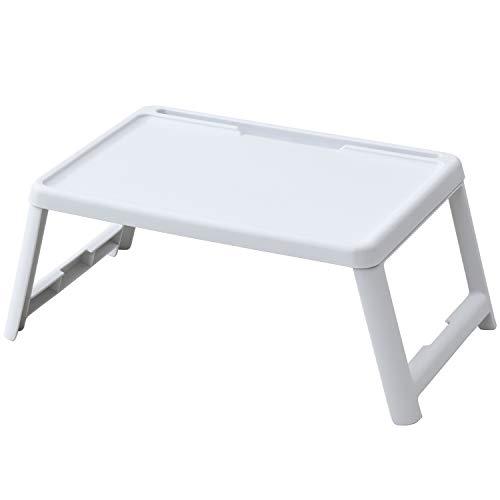 [山善] 折りたたみ ミニテーブル 幅63×奥行35×高さ24.5cm コンパクト スマートフォンスタンド付き 完成品 ...