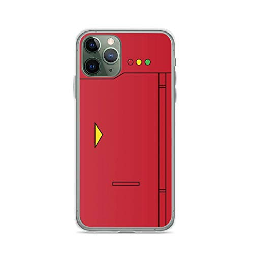 Phone Case Pokedex Compatible with iPhone 11 Pro Max Absorption Bumper Funny