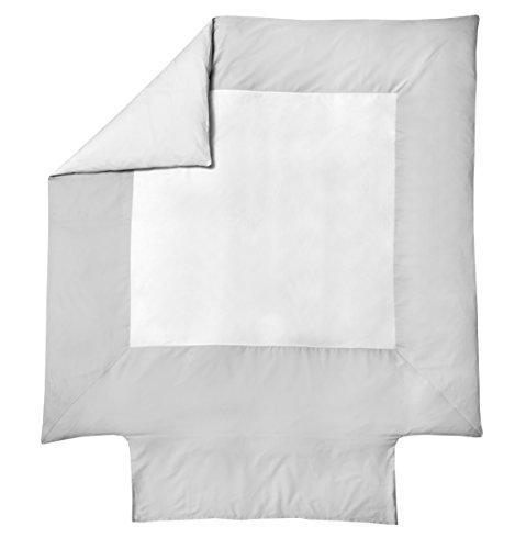 Blanc des Vosges Housse de couette Coton Amboise Metal 220 x 240 cm - Satin 100% coton
