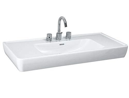 Laufen PRO A Waschtisch, 1 Hahnloch, mit Überlauf, 1050x480, weiß, Farbe: Manhattan