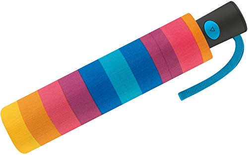 Benetton Taschenschirm Mini AC - Multistripe Regenbogen