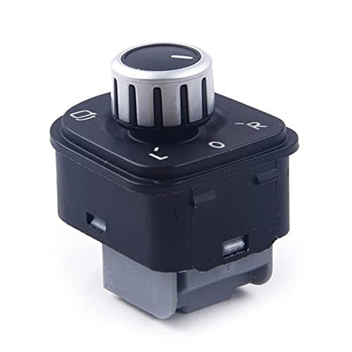 YFQH Botones de Control de Interruptor de Espejo de Lateral eléctrico Apto para VW Golf MK5 MK6 / Passat B6 / Tiguan/EOS