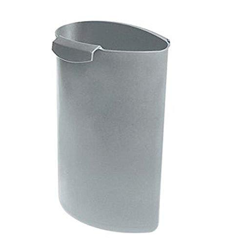 HAN 1837-11, Abfalleinsatz MOON, Schick und Praktisch, Für die perfekte Abfalltrennung, 6 Liter, lichtgrau