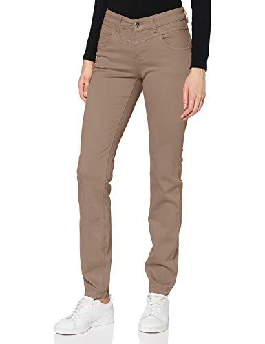 MAC Jeans Damen Dream Slim Jeans, 238R Ginger Brown PPT, 42/30