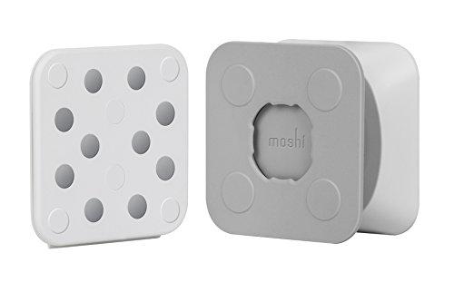 Staffa per montaggio a parete Moshi per iPad - Bianca