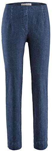 Stehmann - Stretchhose INA 760 W - Gerade geschnittene Pull-On Hose mit kleinem Schlitz, Jeans - Innenbeinlänge 76 cm