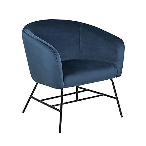 AC Design Furniture Sessel, Marineblau