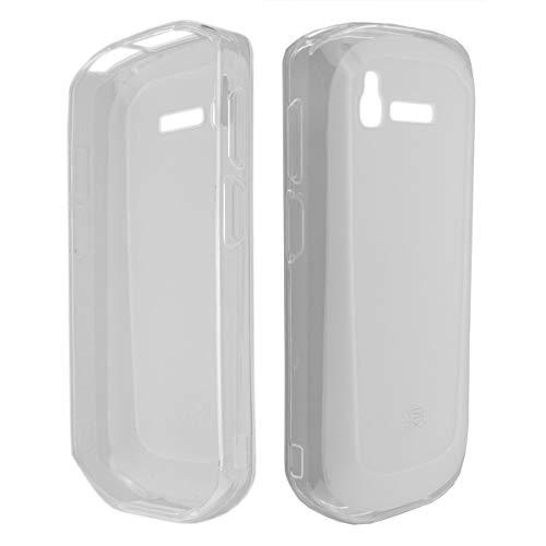 caseroxx TPU-Hülle für Zebra TC51 / TC52 / TC56 / TC57, Handy Hülle Tasche (TPU-Hülle in transparent)