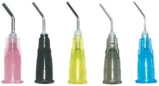 Biodent Pre-bent Needle Tips 100/bottle 20 Ga Black