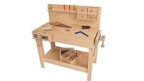 Kinder-Werkbank Werkzeugbank Kinder-Hobelbank Kinder-Tischlerei 4015