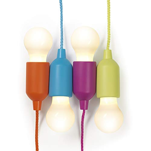 EASYmaxx LED-Ziehleuchten Set 4-tlg. 4,5V