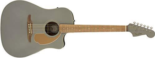Fender-Gitarre. Redondo Normale Größe Schiefer-Satin