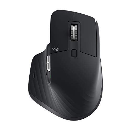 Logitech MX Master 3 Advanced Maus - Schwarz - Business Edition [Dual Connect, 2,4GHz & Bluetooth]