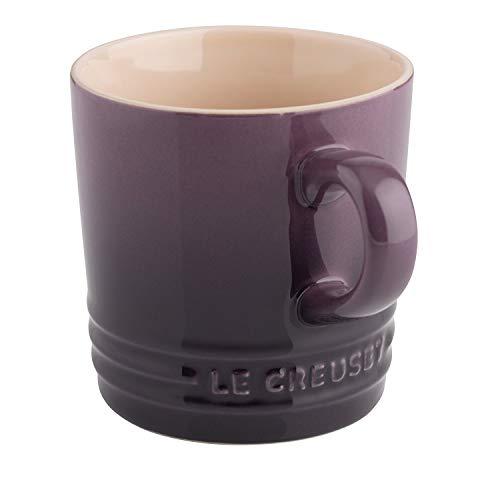 Le Creuset Taza con asa, 200 ml, Cerámica de gres, Altura 10 cm, Morado (Ultra Violet)
