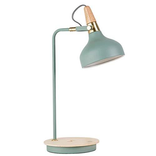 YUXIwang La lectura de la lámpara de escritorio, Estudiante dormitorio lámpara de mesa lámpara de mesa lámpara de escritorio, lámpara de carga Protección de los ojos lámpara de escritorio de aprendiza