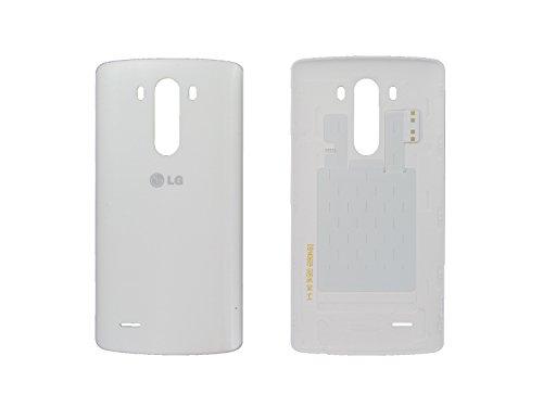 LG D855 G3 Akkudeckel + NFC Antenne, Battery Cover, Weiss, white