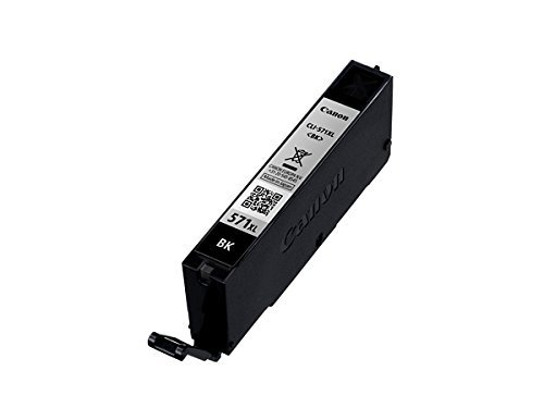 Canon - Cartucho de tinta PGI570 PGI 570 PGI-570 para Canon Pixma MG 7751 (contenido aprox. 15ml), color negro, color (11) 1x XL Tintenpatrone - Photo Black