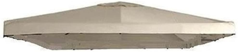 Universal 10' x 10' Single Tiered Replacement Gazebo Canopy - RipLock 350 - For True 120