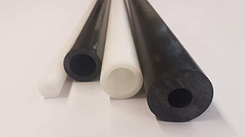 POM Hohlstab Kunststoff Rundrohr 20x10mm L= 500-2000mm schwarz (500mm)