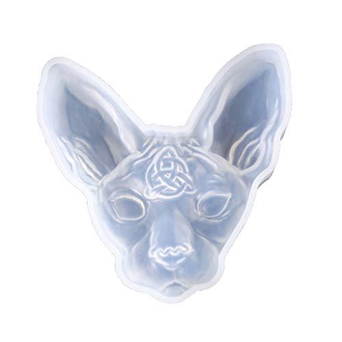 3D Cartoon Katze Silikon Harz Epoxy UV Kleber Form Kreative Handwerk DIY Anhänger Schmuck Brosche Zubehör Werkzeug