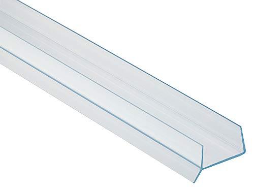 Pihami 10 €/m Sockeldichtprofil Küche Sockeldichtlippe 2500x19mm Kunststoff transparent für Küchenblende