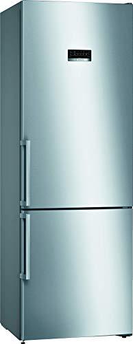 Bosch KGN49XIDP Serie 4 - Frigorífico con congelador XXL independiente/A+++ / 203 x 70 cm / 202 kWh/año/Inox-antifingerprint / 330 L / 105 L parte congelador/NoFrost/VitaFresh