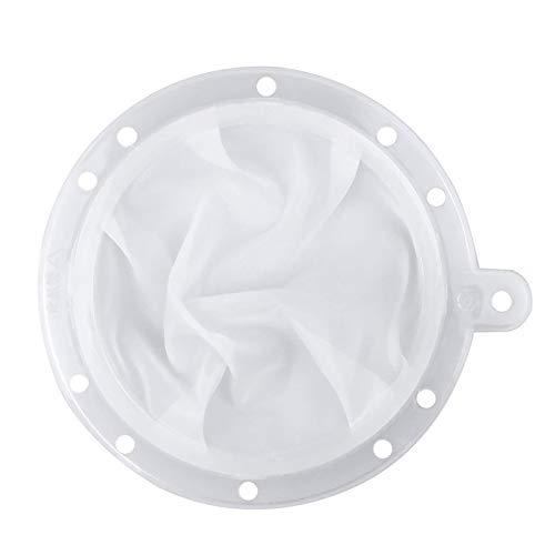 HAUSPROFI Sieb Filter Kompatibel mit 5 Zoll Küchen Trichter für Filterung von Saft, Milch, Kaffee, Wein - 200 Mesh