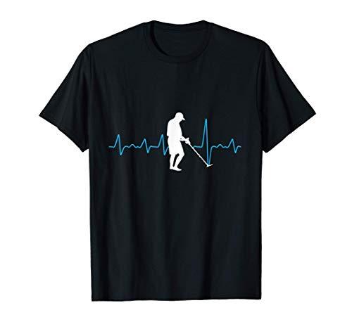 Detector de metales de latidos para sondas Camiseta