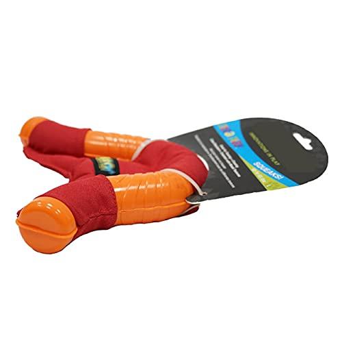 MAID Modisch Nützliches Hunde-Vokalspielzeug U-förmiger Dart, weich, schwer, Witzelfähig und interaktiv, geeignet für mittlere und große Hunde Geeignet für Haustiere.
