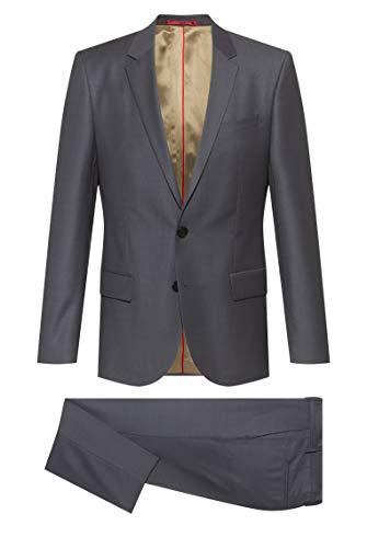 HUGO Herren Henry/Getlin204 10231216 01 Anzug, Medium Grey33, 52