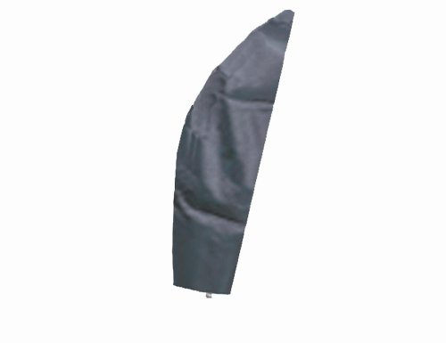 Siena Garden 542322 Schirmhülle anthrazit Polyestergewebe Oxford 600 D für Ampelschirm bis 300 x B 30/56 x H 220 cm